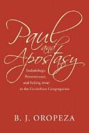 Paul and Apostasy