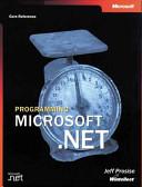 Programming Microsoft. Net