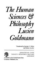 The Human Sciences & Philosophy