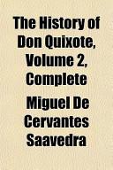 The History of Don Quixote, Volume 2, Complete