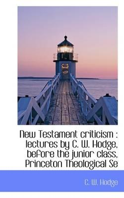 New Testament Criticism