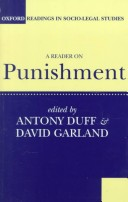A Reader on Punishment