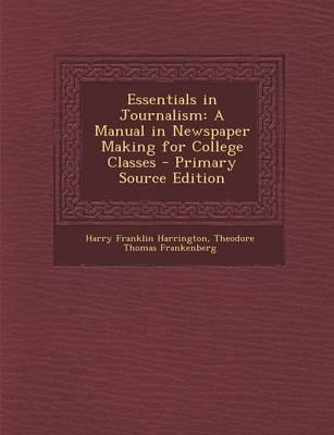 Essentials in Journa...