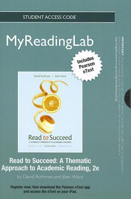Read to Succeed New MyReadingLab With Pearson Etext Standalone Access Card