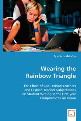 Wearing the Rainbow Triangle