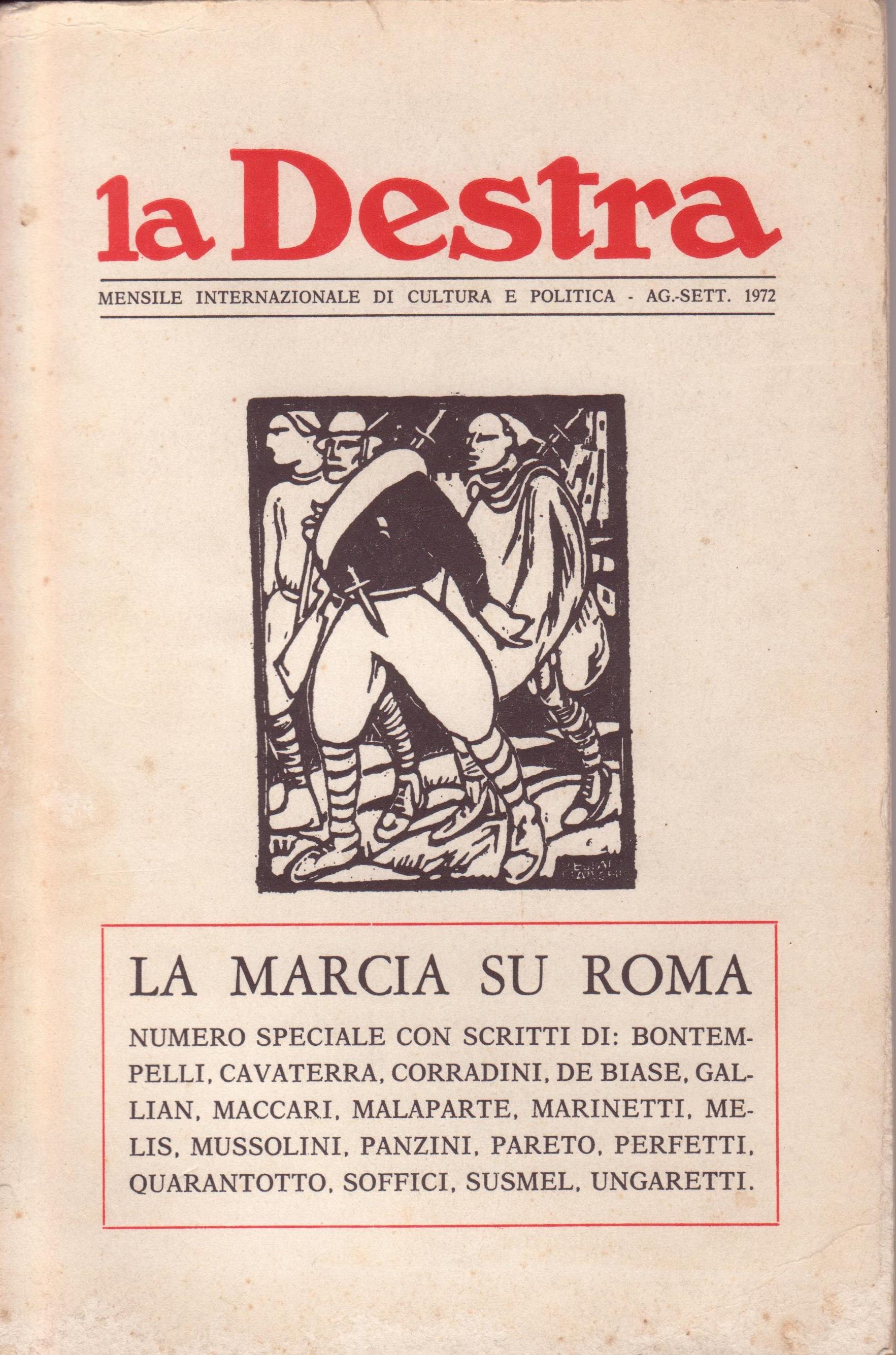 La Destra, Anno II, n. 8-9 (agosto-settembre 1972)