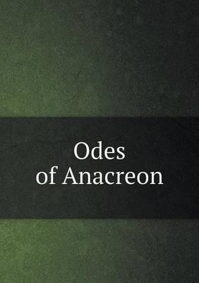 Odes of Anacreon