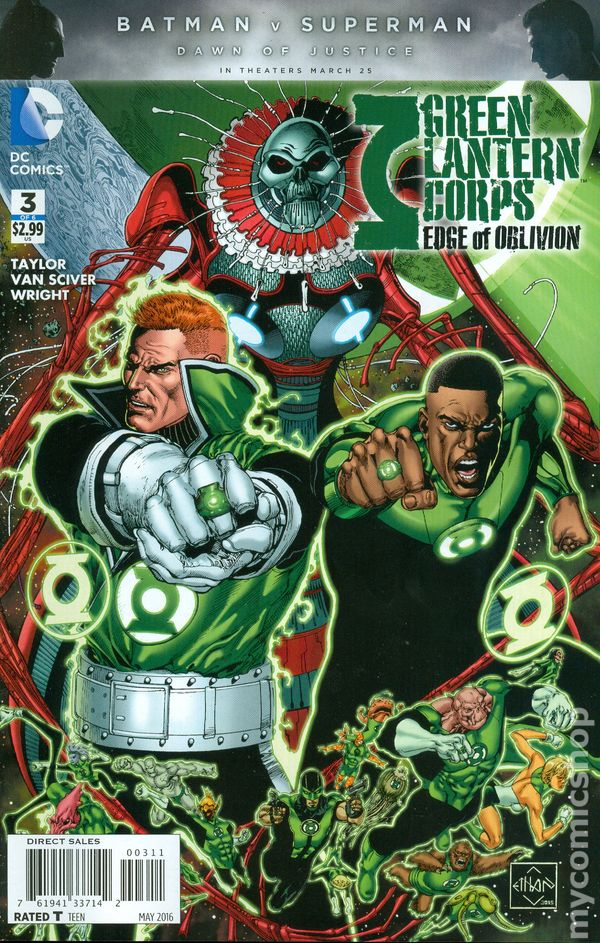 Green Lantern Corps: Edge of Oblivion Vol.1 #3