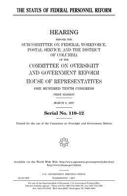 The status of federal personnel reform