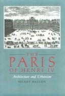 The Paris of Henry IV