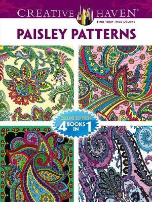 Paisley Patterns Adult Coloring Book