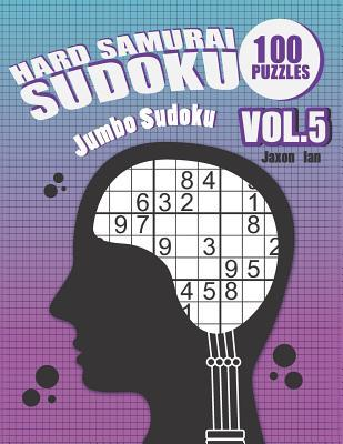 Hard Samurai Sudoku 100 Puzzles Vol.5