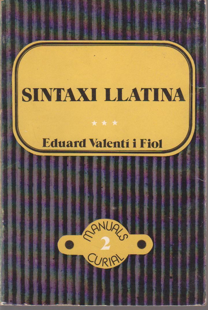 Sintaxi Llatina