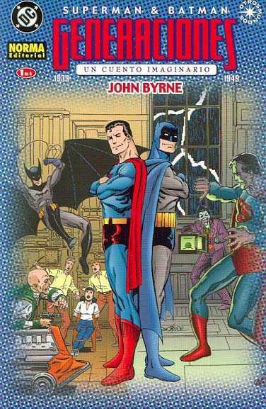 Superman & Batman: Generaciones (1 de 4)