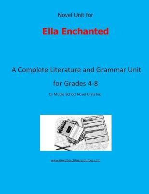Novel Unit for Ella ...