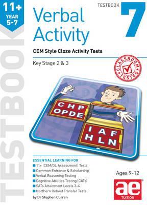 11+ Verbal Activity Year 5-7 Testbook 7