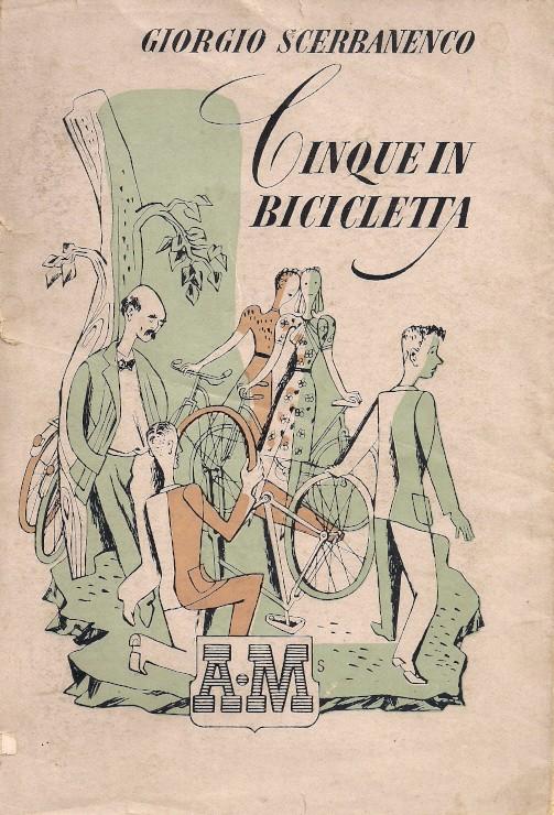 Cinque in bicicletta
