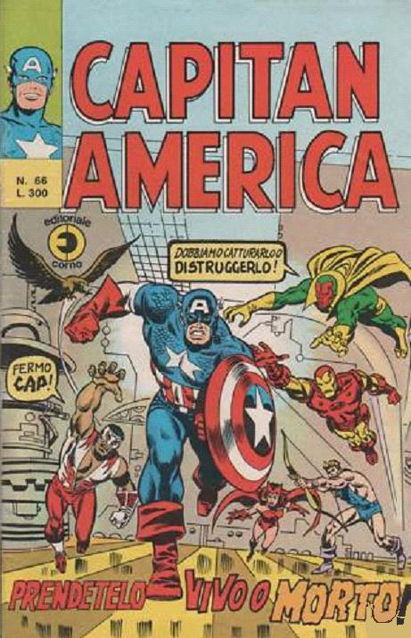 Capitan America n. 66