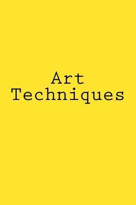 Art Techniques Noteb...