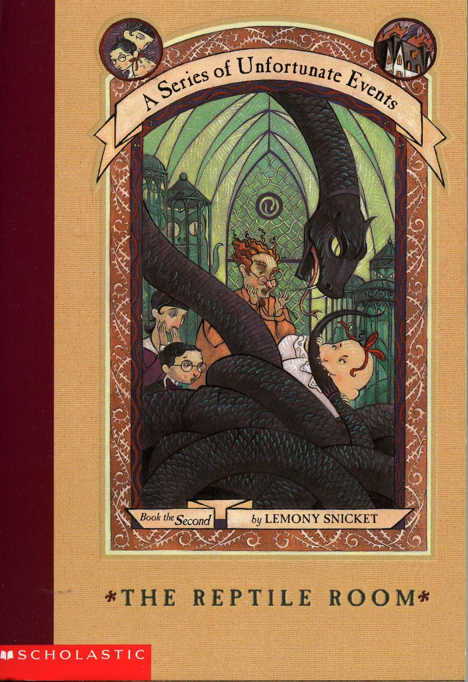 The Reptile Room - Book 2 of A Series of Unfortunate Events
