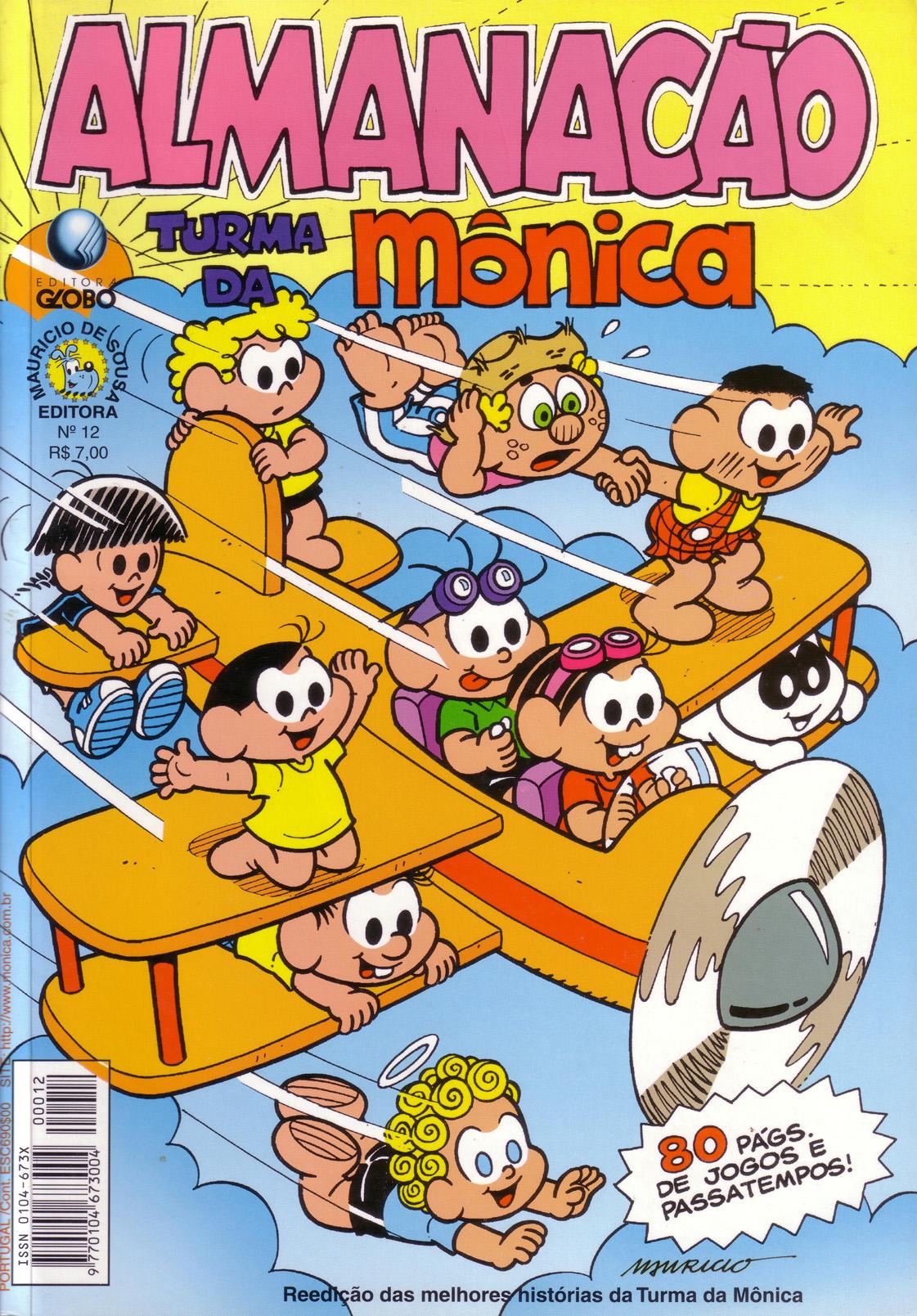 Almanacão de férias Turma Da Mônica