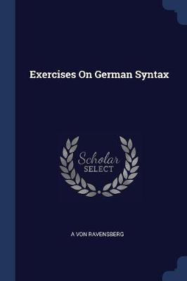 Exercises on German Syntax