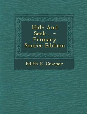 Hide and Seek...