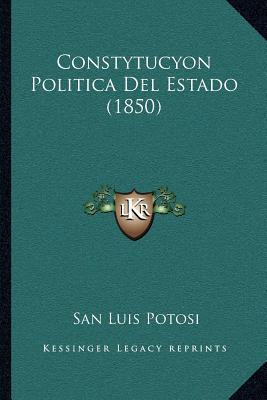 Constytucyon Politica del Estado (1850)