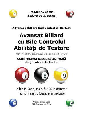 Avansat Biliard cu Bile Controlul Abilitati de Testare