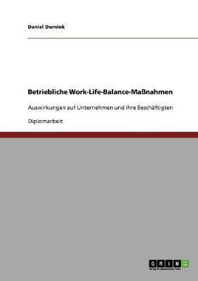 Betriebliche Work-Life-Balance-Maßnahmen
