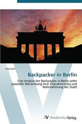 Backpacker in Berlin