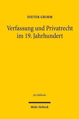 Verfassung Und Priva...