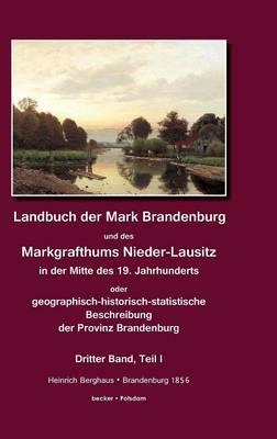 Landbuch der Mark Brandenburg und des Markgrafthums Nieder-Lausitz. Zweiter Band