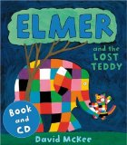Elmer and the Lost Teddy Book &  CD