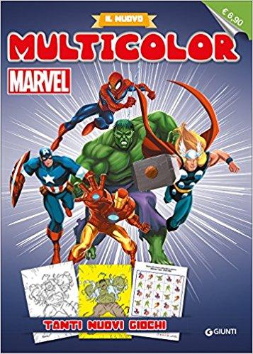Il nuovo multicolor Marvel