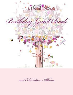 Birthday Guest Book and Celebration Album