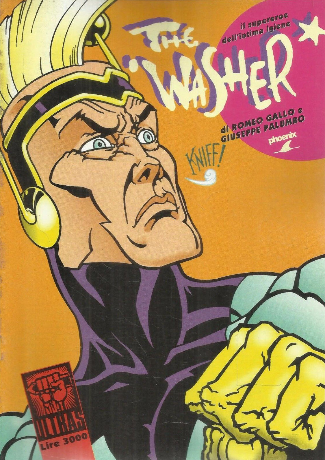 The Washer - Il supereroe dell'intima igiene