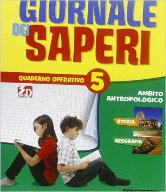 GIORNALE SAPERI 5 ANTROP.