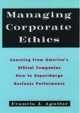 Managing Corporate Ethics
