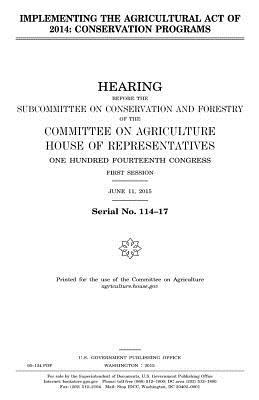 Implementing the Agricultural Act of 2014