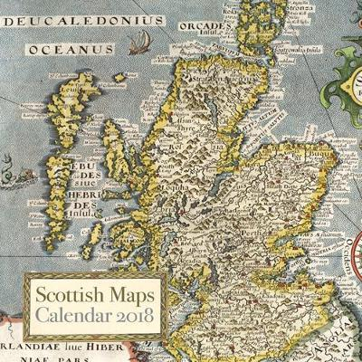 Scottish Maps Calendar 2018