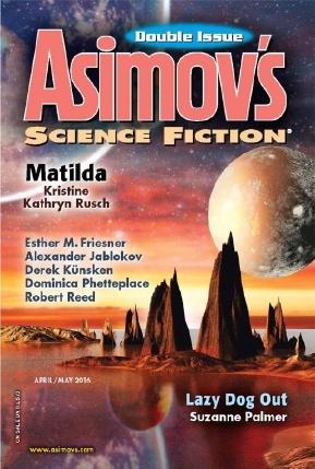 Asimov's Science Fiction, April-May 2016