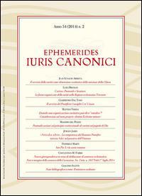 Ephemerides Iuris canonici (2014)