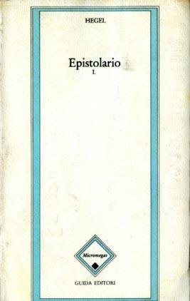 Epistolario 1 : 1785-1808