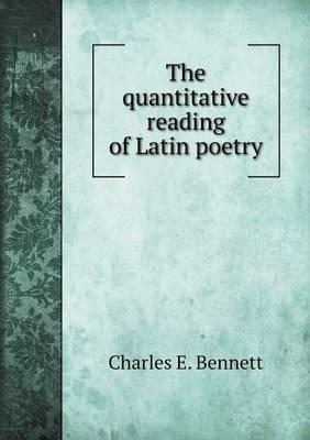 The Quantitative Reading of Latin Poetry