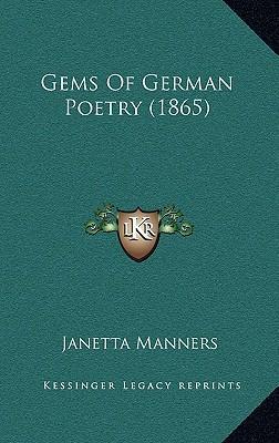 Gems of German Poetry (1865)