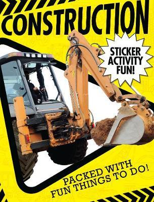 Construction Sticker Activity Fun