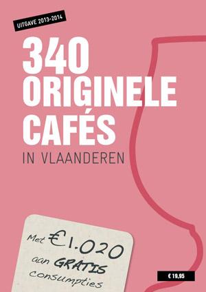 340 originele Cafés in Vlaanderen