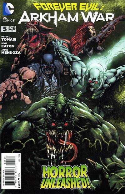 Forever Evil: Arkham War Vol.1 #5