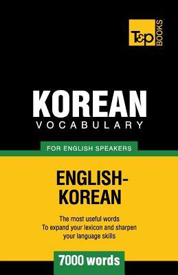 Korean vocabulary for English speakers - 7000 words